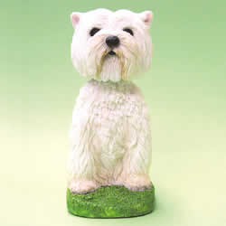 West Highland Terrier Bobblehead Dog