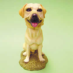 Yellow Labrador Bobblehead Dog