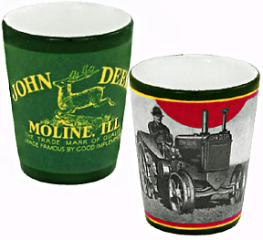 John Deere Moline Shot Glass