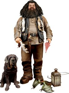 "Harry Potter Hagrid Deluxe 9"" Action Figure with Sound"