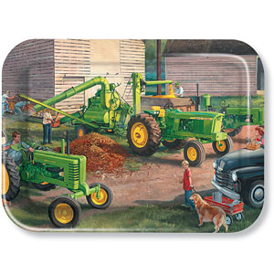Corn Shelling John Deere Metal Tray