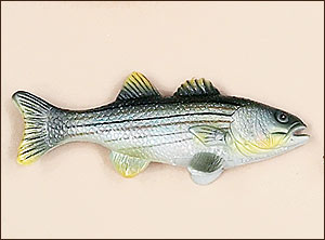 Striped Bass Fish Antenna Topper