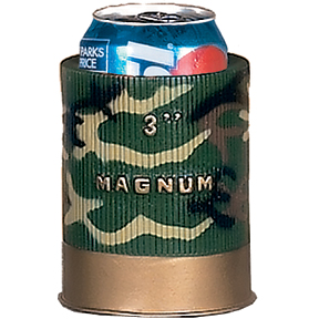 Doubled Walled Can Coolers - Camo Shot Shell