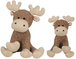 Sock Moose by Sock Monkey