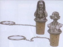 Lord of the Rings Pewter Wine Stoppers