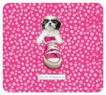 Keith kimberlin Shih Tzu Puppy Mousepad