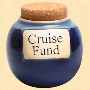 Tumbleweed Cruise Fund Classic Word Jar