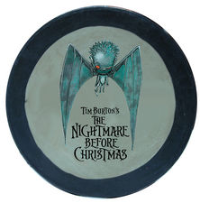 The Nightmare Before Christmas Painted Round Bat Box
