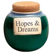 Tumbleweed/Muddy Waters Hopes & Dreams Classic Word Jar