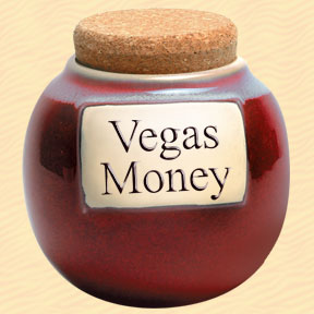 Tumbleweed Vegas Money Classic Word Jar
