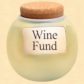 Tumbleweed Wine Fund Classic Word Jar
