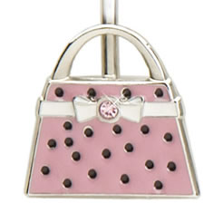 Finders Key Purse Polka Dot Handbag Key Finder