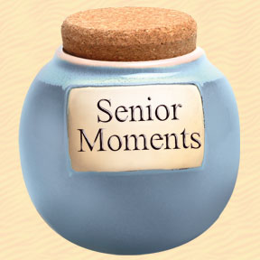 Tumbleweed Senior Moments Classic Word Jar