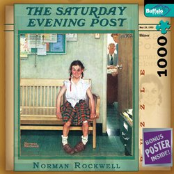 Norman Rockwell Shiner - The Saturday Evening Post 1000 Piece Jigsaw Puzzle
