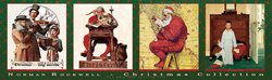 Christmas Collection Norman Rockwell The Saturday Evening Post 750 Piece Panoramic Jigsaw Puzzle