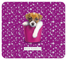 Jack Russell Puppy Mouse Pad by Keith Kimberlin
