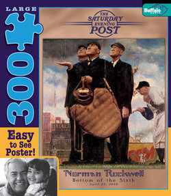 Bottom of the Sixth Norman Rockwell: Saturday Evening Post 300 Large Piece Puzzle