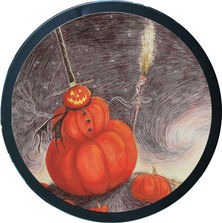 The Nightmare Before Christmas Tin Plate