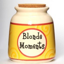 Tumbleweed Blonde Moments Designer Word Jar
