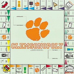 Clemsonopoly Opoly Board Game
