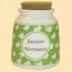 Tumbleweed Senior Moments Designer Word Jar
