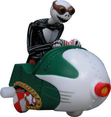 The Nightmare Before Christmas Wind-Up Jack Snowmobile