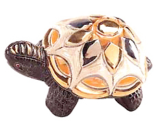 Galapagos Turtle # 733 Artesania Rinconada Silver Anniversary Collection