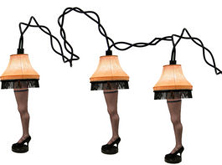 A Christmas Story Leg Lamp Head Lights Light Strand
