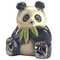 Panda # 746 Artesania Rinconada Silver Anniversary Collection