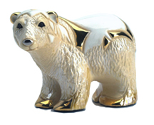 Polar Bear # 755 Artesania Rinconada Silver Anniversary Collection