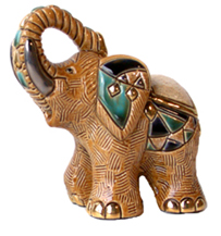 Indian Elephant # 771 Artesania Rinconada Silver Anniversary Collection