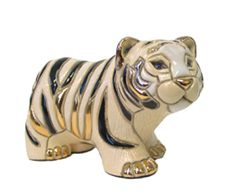 White Tiger # 773 Artesania Rinconada Silver Anniversary Collection
