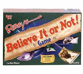 Ripley's' Believe It Or Not! Board Game