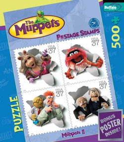 The Muppets II The Muppets 500 Piece Puzzle