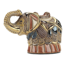 Battle Elephant # 791 Artesania Rinconada Silver Anniversary Collection