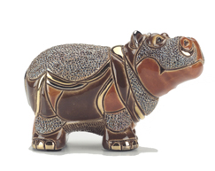 Hippo # 793 Artesania Rinconada Silver Anniversary Collection