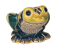 Tree Frog # 798 Artesania Rinconada Silver Anniversary Collection