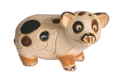 Spotted Pig # 804 Artesania Rinconada Silver Anniversary Collection