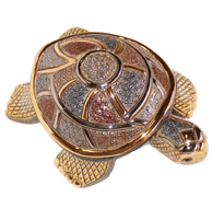 Turtle # 806 Artesania Rinconada Silver Anniversary Collection