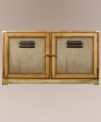 Double Door French Factory Cabinet