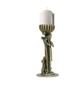 The Nightmare Before Christmas Pewter Candle Holder