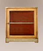 Glass Door French Factory Cabinet