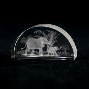 Crystal Impressions Elephant in the Jungle