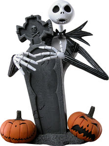 The Nightmare Before Christmas Jack Skellington Mini Bust