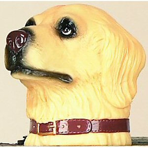 Golden Retriever Trailer Ball Cover
