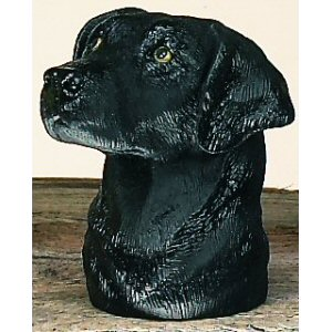 Black Lab Trailer Ball Cover