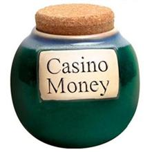 Ceramic Casino Money Change Jar