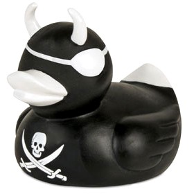 Pirate Devil Duckie