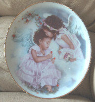 Sister Angels Plate