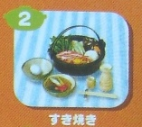 Japanese Winter Food : Hot Pots #2 Sukiyaki   (OUT OF STOCK)